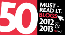 50 Must-Read IT Blogs 2013 and 2012